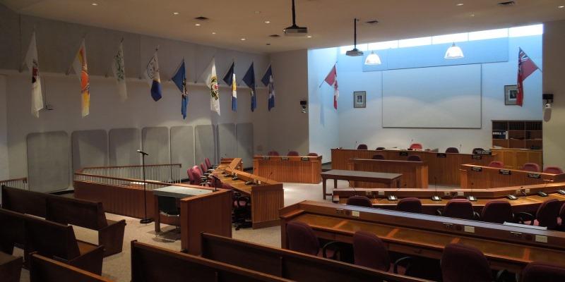 Lambton County Council Chambers