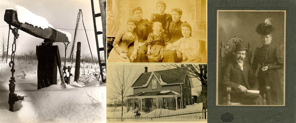 Historical photos from the Lambton Heritage Museum and Lambton Archives collections