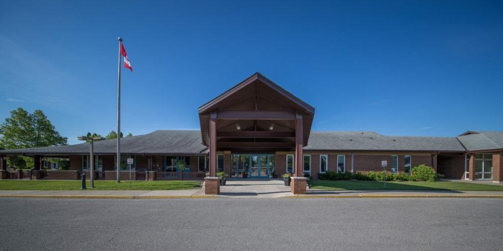 Front entrance of North Lambton Lodge