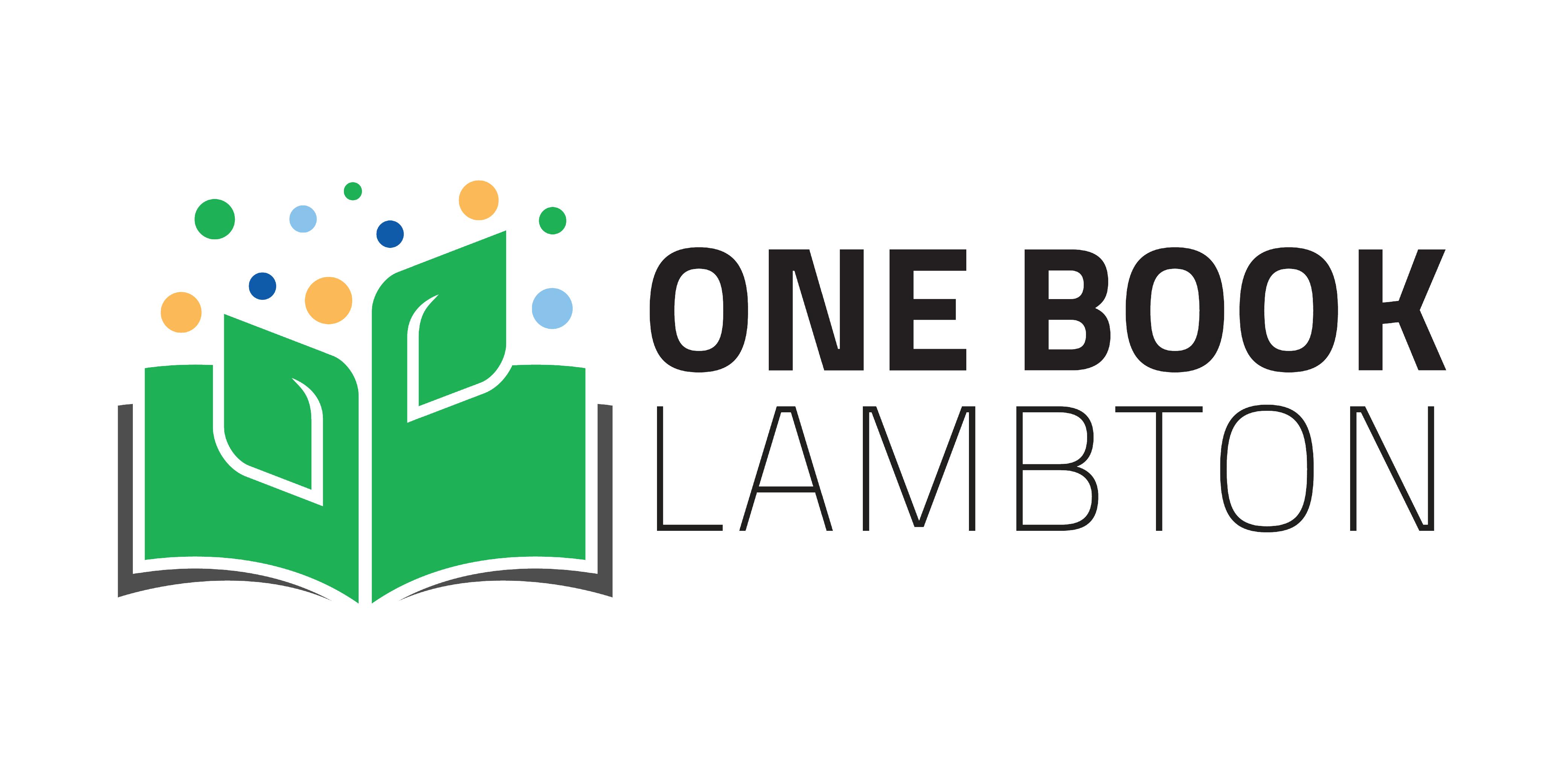 One Book Lambton logo