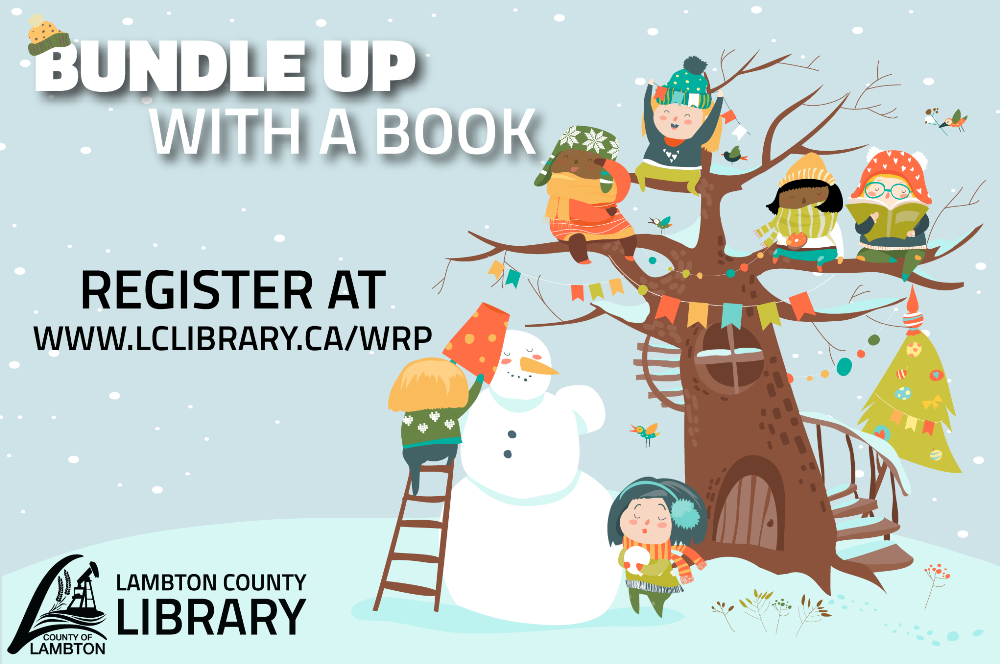 Lambton County Library Winter Reading Program Advertisement