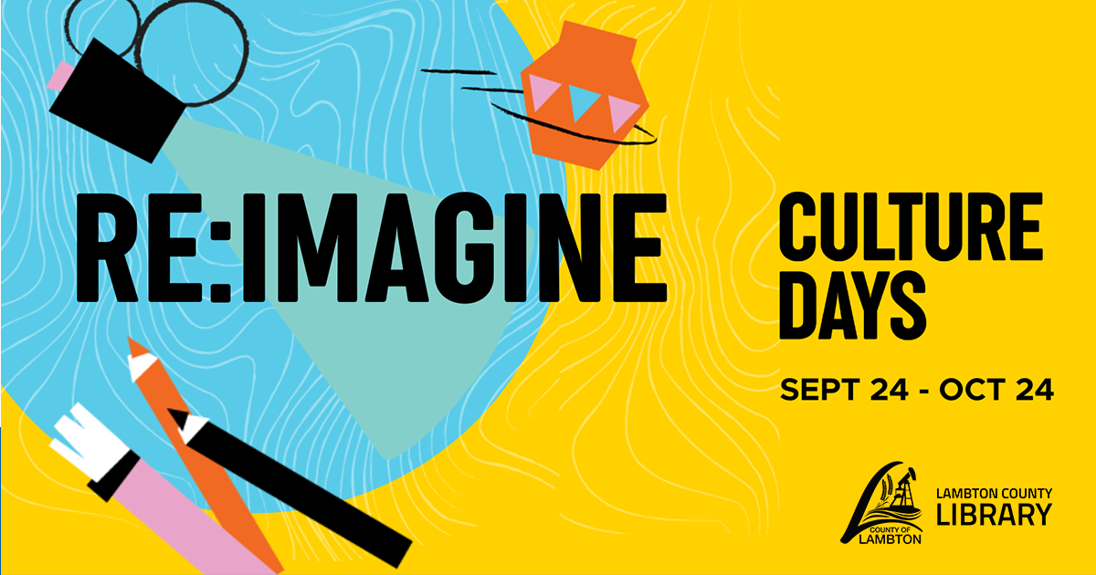 Culture Days text on yellow background